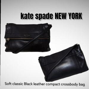 kate spade NEW YORK soft leather crossbody handbag